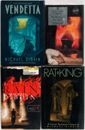 Books:Mystery & Detective Fiction, Michael Dibdin. Group of Four First Edition Books. Variouspublishers, [1989-1999]. Includes: Rat King; Vendetta; TheDyin... (Total: 4 Items)