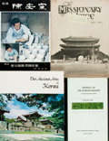 Books:World History, [Korea]. Group of Four Books and Periodicals about Life and Arts in Korea. Various publishers, [1929-1993]. Publishers' bind... (Total: 4 Items)
