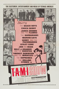 "Movie Posters:Rock and Roll, The T.A.M.I. Show (American International, 1964). One Sheet (27"" X41"").. ..."