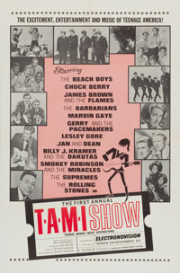 "The T.A.M.I. Show (American International, 1964). One Sheet (27"" X 41"")"