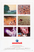 "Movie Posters:Rock and Roll, Woodstock (Warner Brothers, 1970). One Sheet (27"" X 41"").. ..."