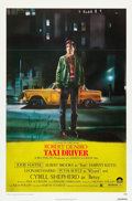 "Movie Posters:Crime, Taxi Driver (Columbia, 1976). Autographed One Sheet (27"" X 41"")....."