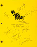 Memorabilia:Comic-Related, The Duck Factory Emmy Award Memorabilia Group (PlayhousePictures, 1984).... (Total: 5 Items)