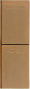 Books:Reference & Bibliography, [James Whistler]. Howard Mansfield. LIMITED. Whistler as aCritic of His Own Prints. [and:] Whistler in Belgium ...(Total: 2 Items)