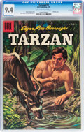 Silver Age (1956-1969):Adventure, Tarzan #78 File Copy (Dell, 1956) CGC NM 9.4 Off-white to white pages....