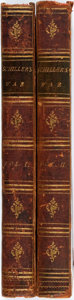 Books:World History, Frederic Schiller. The History of the Thirty Years War in Germany. London: W. Miller, 1799. Complete in two octavo v... (Total: 2 Items)