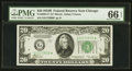 Small Size:Federal Reserve Notes, Fr. 2056-G* $20 1934B Federal Reserve Note. PMG Gem Uncirculated 66 EPQ.. ...