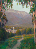 Fine Art - Painting, American:Contemporary   (1950 to present)  , WILLIAM DORSEY (American, b. 1942). Pathway to Ojai. Oil oncanvas. 40 x 30 inches (101.6 x 76.2 cm). Signed lower right...