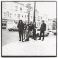Photographs, HERB GREENE (American, 20th Century). Grateful Dead on Haight, 1966. Gelatin silver. 9 x 8-3/4 inches (22.9 x 22.2 cm). ...