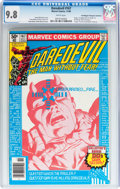 Modern Age (1980-Present):Superhero, Daredevil #167 Don/Maggie Thompson Collection pedigree (Marvel,1980) CGC NM/MT 9.8 White pages....