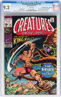 Bronze Age (1970-1979):Horror, Creatures on the Loose #10 Don/Maggie Thompson Collection pedigree(Marvel, 1971) CGC NM- 9.2 White pages....