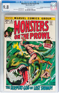 Bronze Age (1970-1979):Horror, Monsters on the Prowl #16 Don/Maggie Thompson Collection pedigree(Marvel, 1972) CGC NM/MT 9.8 Off-white to white pages....