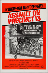 "Assault on Precinct 13 (Turtle Releasing, 1976). One Sheet (27"" X 41""). Action"