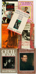 Books:Biography & Memoir, [Cecil Beaton, Oscar Wilde, The Bloomsbury Group, et al]. Group of Seven Novels about Prominent Literary or Artistic Perso... (Total: 7 Items)