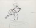 Animation Art:Production Drawing, The Cat in the Hat Preliminary Drawing and Dr. SeussAutograph Group (DePatie-Freleng, c. 1970s).... (Total: 2 Items)