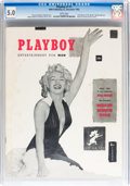 Magazines:Miscellaneous, Playboy #1 (HMH Publishing, 1953) CGC VG/FN 5.0 White pages....
