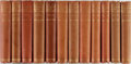 Books:Literature Pre-1900, Henry Fielding. The Works of Henry Fielding. Westminster:Constable, 1898-1899. Limited to 750 copies. Twelve volume...(Total: 12 Items)