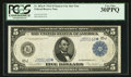 Large Size:Federal Reserve Notes, Fr. 883a* $5 1914 Federal Reserve Note PCGS Very Fine 30PPQ.. ...