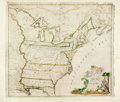 """Books:Maps & Atlases, [Maps]. Abel Buell. Reproduction of His """"New and Correct Map of theUnited States of North America, 1784."""" Measures 23.5"""" x ..."""