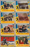 """Movie Posters:War, The Red Badge of Courage (MGM, 1951). Lobby Card Set of 8 (11"""" X14""""). War.. ... (Total: 8 Items)"""
