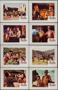 "The War Wagon (Universal, 1967). Lobby Card Set of 8 (11"" X 14""). Western. ... (Total: 8 Items)"