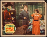 "West of the Divide (Monogram, 1934). Lobby Card (11"" X 14""). Western"