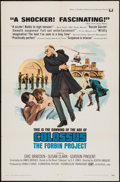 """Movie Posters:Science Fiction, Colossus: The Forbin Project (Universal, 1970). One Sheet (27"""" X41""""). Science Fiction.. ..."""