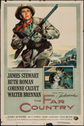 """Movie Posters:Western, The Far Country (Universal International, 1955). One Sheet (27"""" X 41""""). Western.. ..."""