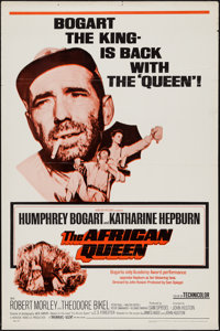 "The African Queen (Horizon, R-1968). One Sheet (27"" X 41""). Adventure"