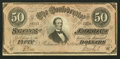 Confederate Notes:1864 Issues, T66 $50 1864 PF- 5 Cr. 498.. ...