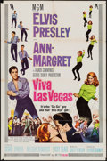"Movie Posters:Elvis Presley, Viva Las Vegas (MGM, 1964). One Sheet (27"" X 41"") Style A. ElvisPresley.. ..."