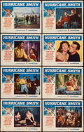 "Movie Posters:Adventure, Hurricane Smith (Paramount, 1952). Lobby Card Set of 8 (11"" X 14"").Adventure.. ... (Total: 8 Items)"