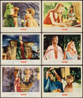 """Movie Posters:Fantasy, She (MGM, 1965). Lobby Card Set of 8 and Lobby Cards (2) (11"""" X14""""). Fantasy.. ... (Total: 10 Items)"""