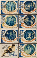 """Movie Posters:Musical, Shine on Harvest Moon (Warner Brothers, 1944). Lobby Card Set of 8 (11"""" X 14""""). Musical.. ... (Total: 8 Items)"""
