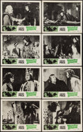 """Movie Posters:Horror, Tower of London (United Artists, 1962). Lobby Card Set of 8 (11"""" X 14""""). Horror.. ... (Total: 8 Items)"""