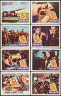 """Movie Posters:War, The War Lover (Columbia, 1962). Lobby Card Set of 8 (11"""" X 14"""").War.. ... (Total: 8 Items)"""