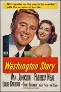 """Movie Posters:Drama, Washington Story & Other Lot (MGM, 1952). One Sheet (27"""" X 41"""") & Trimmed One Sheet (27"""" X 39.5""""). Drama.. ... (Total: 2 Items)"""