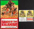 """Movie Posters:Adventure, Sands of the Kalahari and Others Lot (Paramount, 1965). UncutPressbooks (6) (Multiple Pages, 23.5"""" X 21"""", 14"""" X 20.5"""", &17... (Total: 6 Items)"""