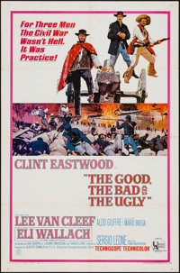 """The Good, the Bad and the Ugly (United Artists, 1968). One Sheet (27"""" X 41""""). Western"""