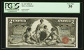 Large Size:Silver Certificates, Fr. 247 $2 1896 Silver Certificate PCGS Very Fine 30.. ...