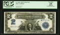 Large Size:Silver Certificates, Fr. 256* $2 1899 Silver Certificate PCGS Apparent Very Fine 25.. ...