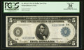 Large Size:Federal Reserve Notes, Fr. 887a* $5 1914 Federal Reserve Note PCGS Apparent Very Fine 30.. ...