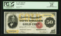 Large Size:Gold Certificates, Fr. 1193 $50 1882 Gold Certificate PCGS Apparent Very Fine 25.. ...