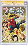 Modern Age (1980-Present):Superhero, The Amazing Spider-Man #600 Romita Variant Cover Signature Series(Marvel, 2009) CGC NM/MT 9.8 White pages....