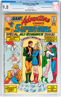 Adventure Comics #390 Don/Maggie Thompson Collection pedigree (DC, 1970) CGC NM/MT 9.8 White pages