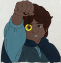 Animation Art:Production Cel, Lord of the Rings Frodo and the One Ring Production Cel andDrawing (Ralph Bakshi/United Artists, 1978).... (Total: 2 OriginalArt)