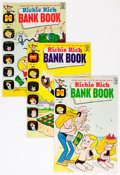 Bronze Age (1970-1979):Humor, Richie Rich Bank Book #1-59 Complete Series Group (Harvey, 1972-82)Condition: Average NM-.... (Total: 62 Comic Books)