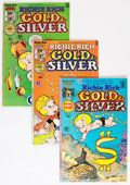Bronze Age (1970-1979):Cartoon Character, Richie Rich Gold and Silver #1-42 Complete Run Group (Harvey,1975-82) Condition: Average NM-.... (Total: 42 Comic Books)