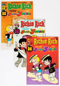 Bronze Age (1970-1979):Cartoon Character, Richie Rich and Jackie Jokers Group (Harvey, 1973-82) Condition:Average NM-.... (Total: 55 Comic Books)