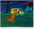 Animation Art:Production Cel, Scooby Doo Where Are You? Publicity Cel (Hanna-Barbera,1969)....